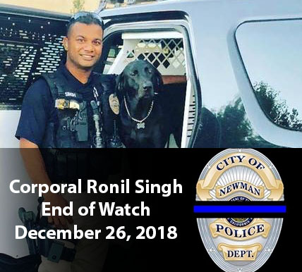 Corporal Ronil Singh EOW